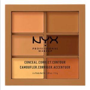 2/$25 Deep Conceal Correct Contour Palette
